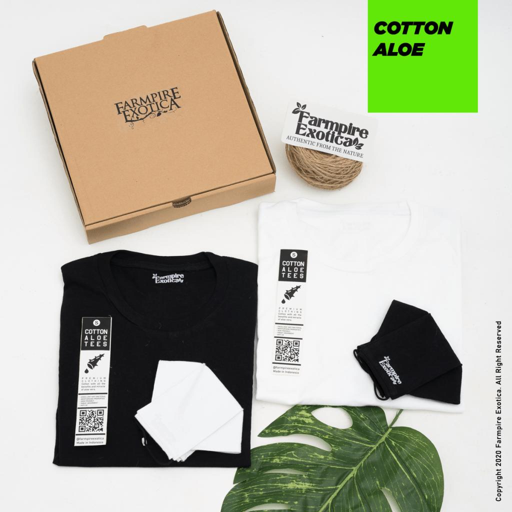 aloe vera organic tshirts