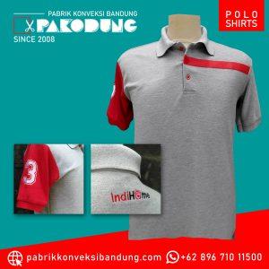 bordir konveksi polo shirts