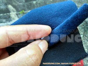 bahan fleece cvc pakodung