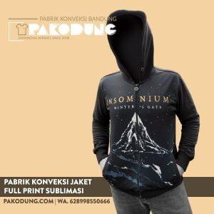 konveksi jaket full printing sublim