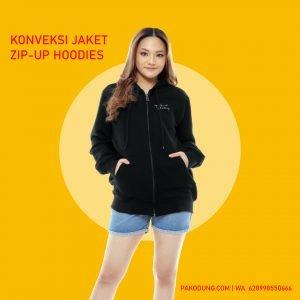 konveksi hoodie zip bandung